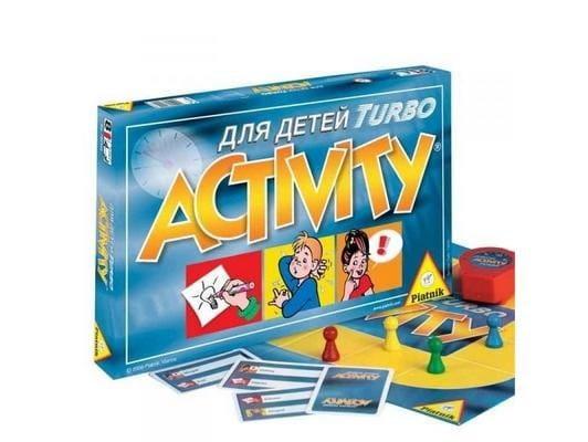 Купить Настольная игра Piatnik Activity Турбо для детей в интернет магазине игрушек и детских товаров