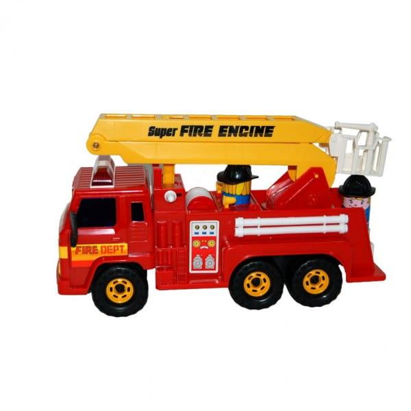 Пожарная машина Daesung 404 (красно-желтая)