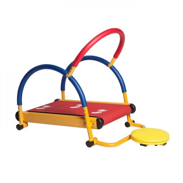 Детская беговая дорожка MOOVE AND FUN механическая с диском-твист