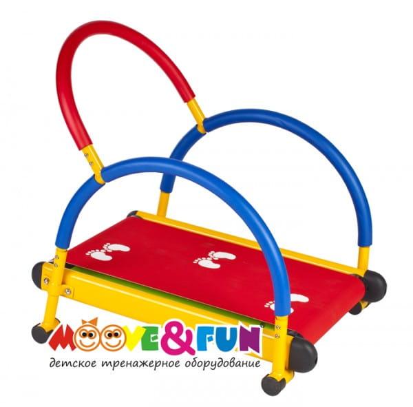 Купить Детская беговая дорожка Moove and Fun с компьютером в интернет магазине игрушек и детских товаров