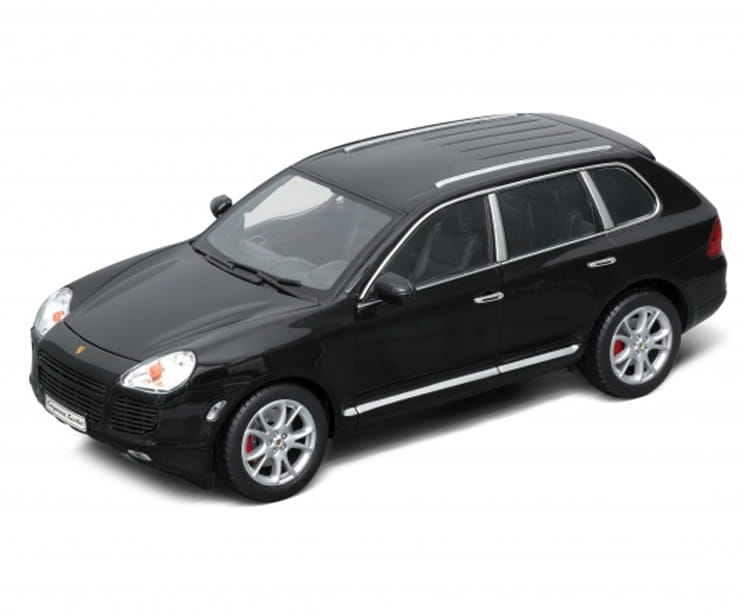 Машинка Welly 12529 Porsche Cayenne Turbo 1:18