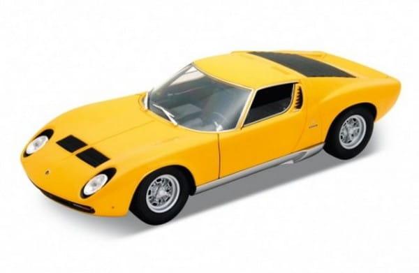 Машинка Welly Lamborghini Miura 1:18