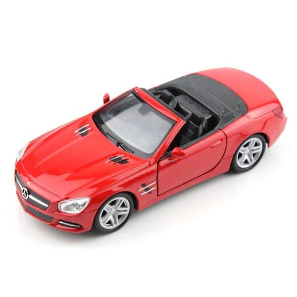 Машинка Welly Mercedes-Benz SL500 1:18