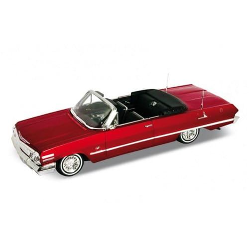 Винтажная машина Welly Chevrolet Impala 1963 1:24