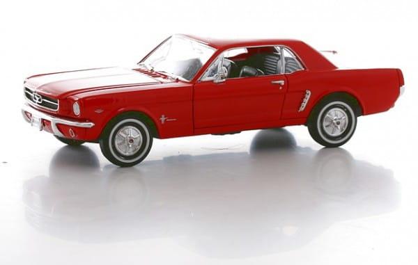 Винтажная машина Welly Ford Mustang 1964 1:24