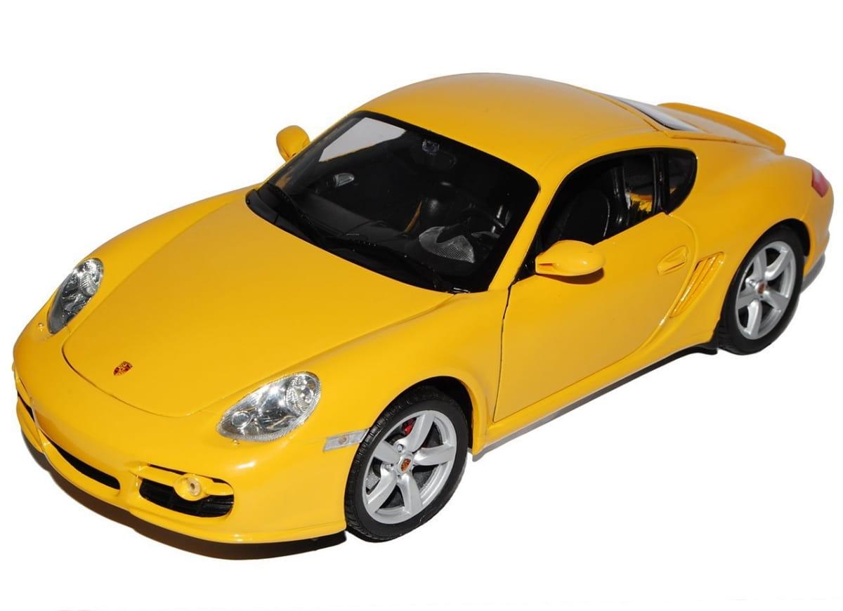 Машинка Welly Porsche Cayman S 1:24