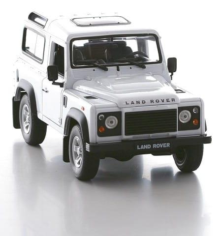 Машинка Welly Land Rover Defender 1:24