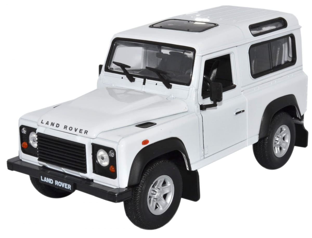 Машинка WELLY Land Rover Defender 1:24