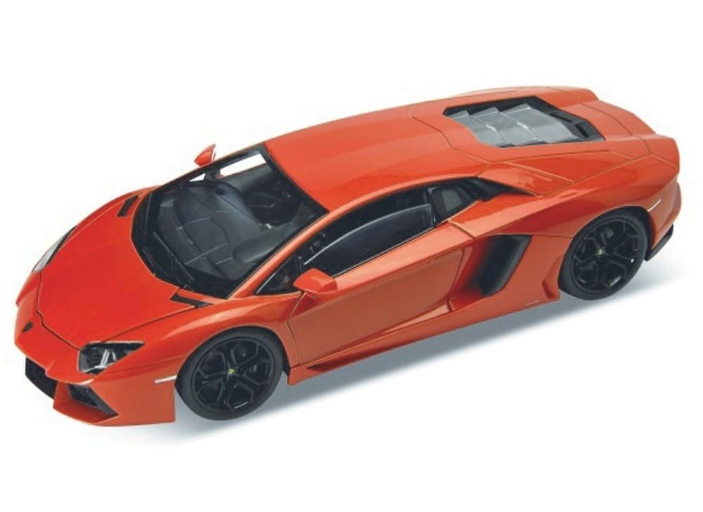 Машинка Welly Lamborghini Aventador 1:24