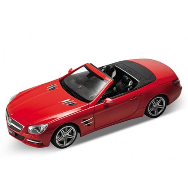 Машинка Welly Mercedes-Benz SL500 1:24