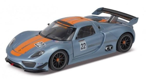 Машинка Welly Porsche 918 RSR 1:24