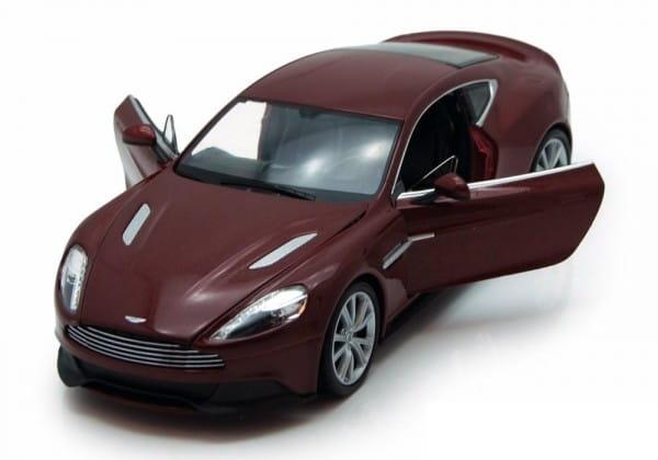 Машинка Welly Aston Martin Vanquish 1:24