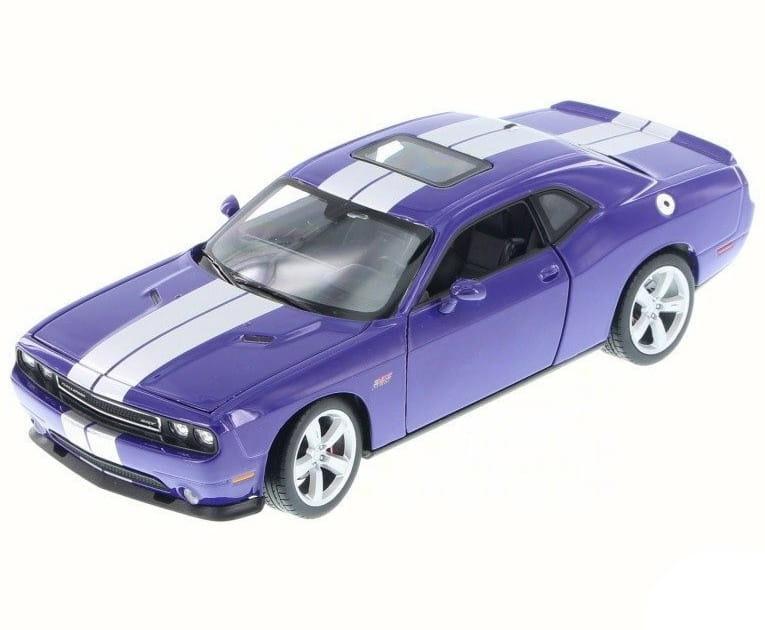 Машинка Welly Dodge Challenger SRT 1:24