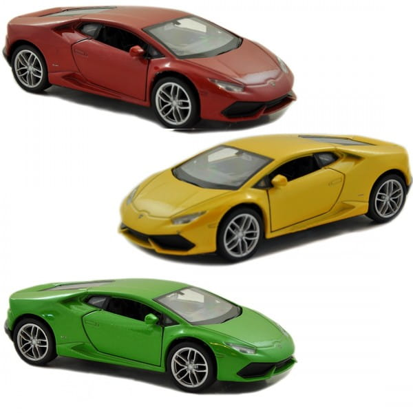 Машинка Welly 24056 Lamborghini Huracan LP610-4 1:24