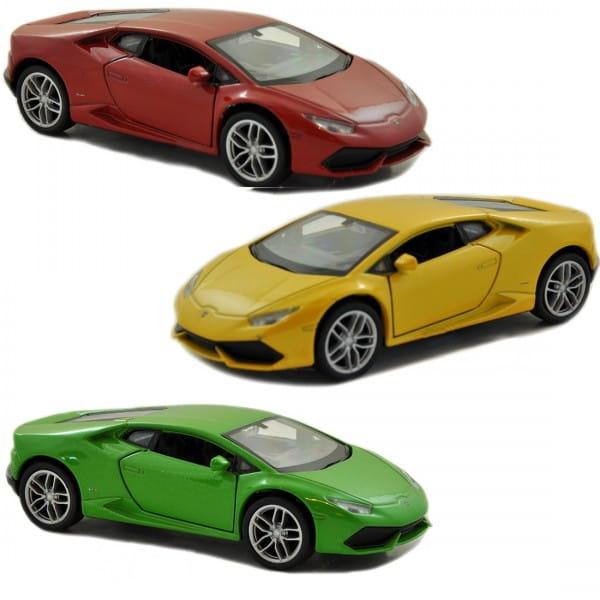 Машинка Welly Lamborghini Huracan LP610-4 1:24