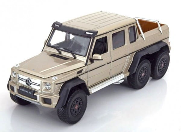 Машинка Welly 24061 Mercedes-Benz G63 AMG 6x6 1:24