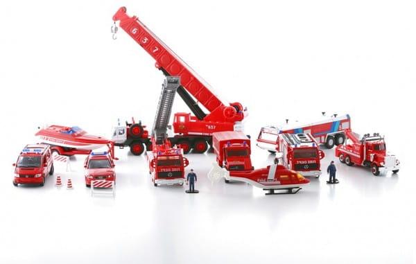 Игровой набор Welly 99610-20B Пожарная служба - 20 штук