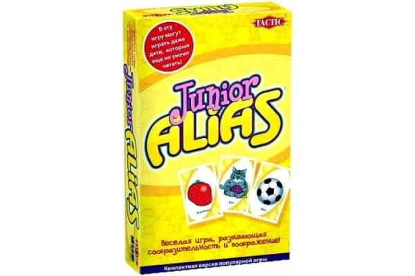 Купить Настольная игра для малышей Tactic Скажи иначе Alias Junior (компактная версия) в интернет магазине игрушек и детских товаров