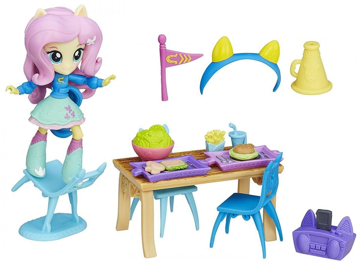 Игровой набор My Little Pony Equestria Girls Пижамная вечеринка - Флаттершай (Hasbro)
