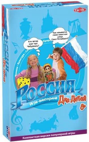 Купить Настольная игра для детей Tactic Россия (компактная версия) в интернет магазине игрушек и детских товаров