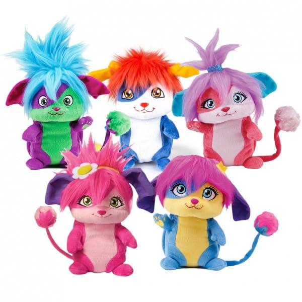 Плюшевая игрушка Popples 56300 Малыши-прыгуши - 20 см (сворачивается в плюшевый шар)