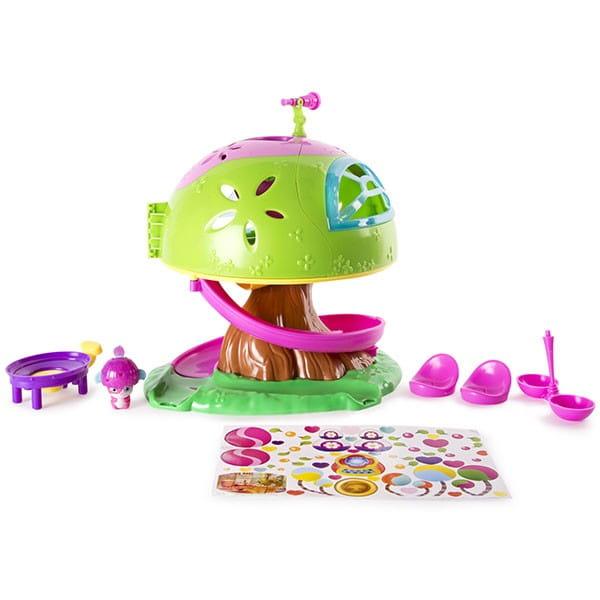 Игровой набор Popples 56307 Малыши-прыгуши Дом на дереве