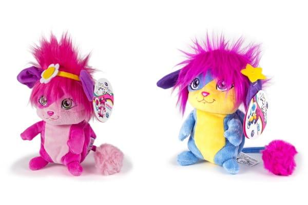 Плюшевая игрушка Popples 56309 Малыши-прыгуши - 28 см (сворачивается в плюшевый шар)