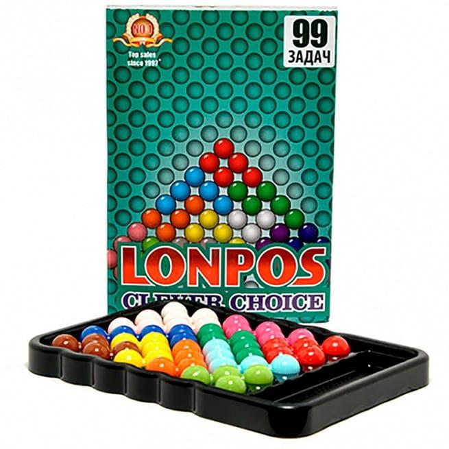 Головоломка Lonpos lonpos99 Лонпос Clever Choice - 99 задач