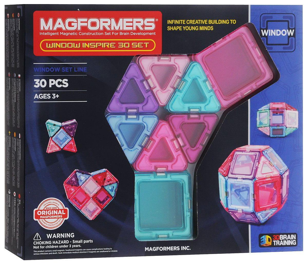 Магнитный конструктор Magformers 714004 Window Inspire (30 деталей)