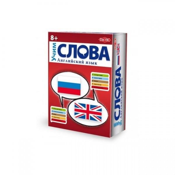 Купить Настольная игра Tactic Учим английский язык - Слова в интернет магазине игрушек и детских товаров