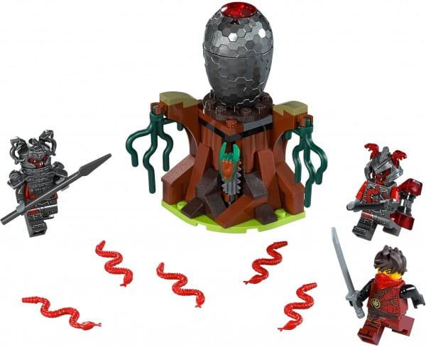 Конструктор Lego Ninjago Лего Ниндзяго Атака Алой армии