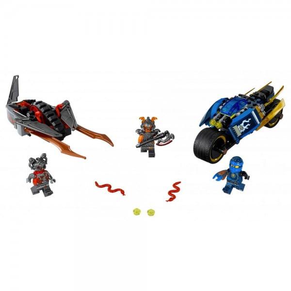 Конструктор Lego Ninjago Лего Ниндзяго Пустынная молния
