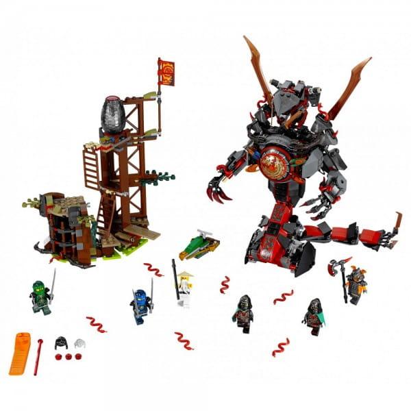 Конструктор Lego Ninjago Лего Ниндзяго Железные удары судьбы