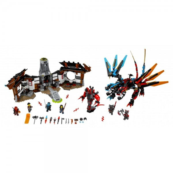 Конструктор Lego 70627 Ninjago Лего Ниндзяго Кузница Дракона