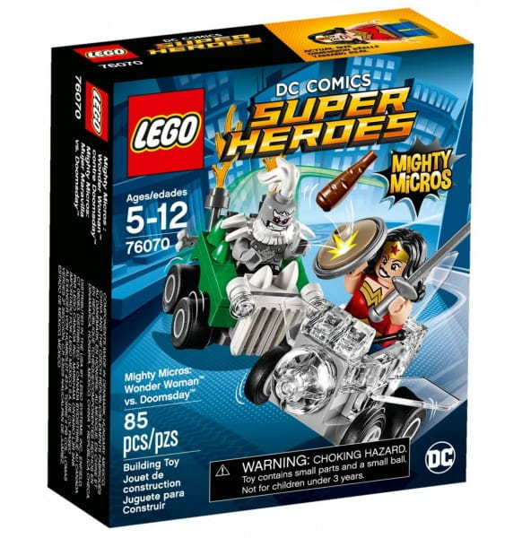 Конструктор Lego 76070 Super Heroes Mighty Micros Лего Супер Герои Майти Микро Чудо-женщина против Думсдэя