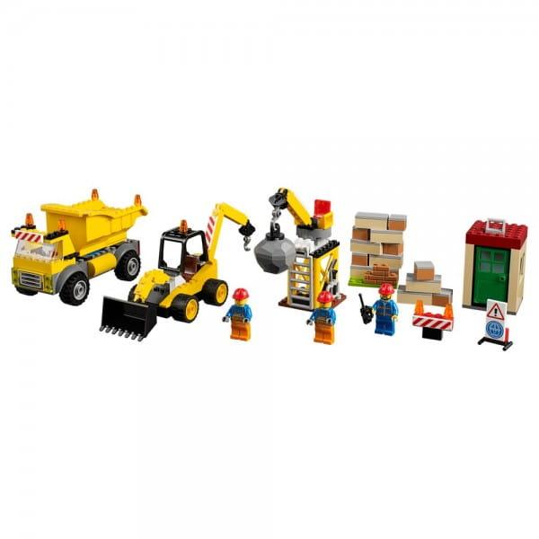Конструктор Lego Juniors Лего Джуниорс Стройплощадка