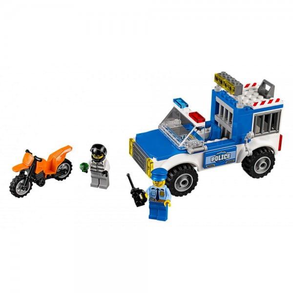Конструктор Lego 10735 Juniors Лего Джуниорс Погоня на полицейском грузовике