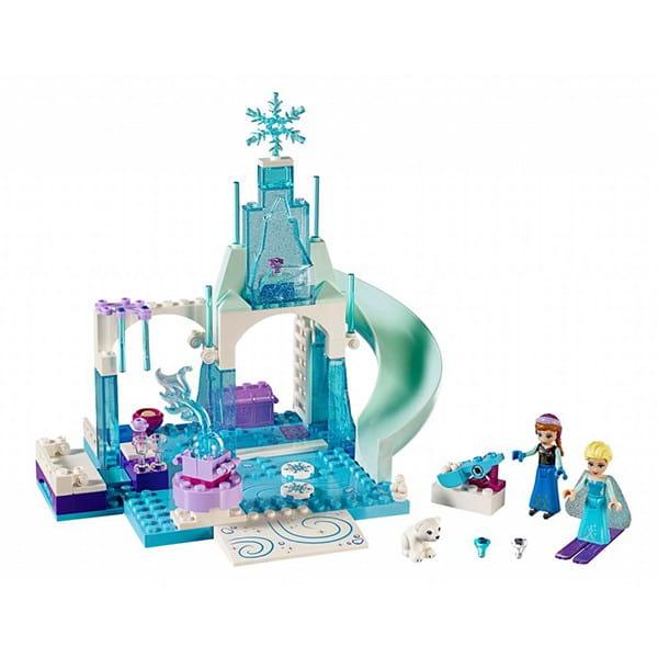Конструктор Lego 10736 Juniors Лего Джуниорс Игровая площадка Эльзы и Анны