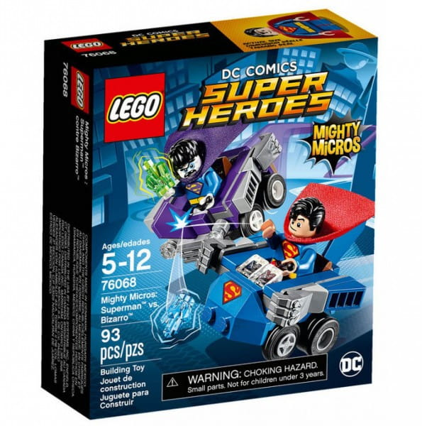 Конструктор Lego 76068 Super Heroes Mighty Micros Лего Супер Герои Майти Микро Супермен против Бизарро