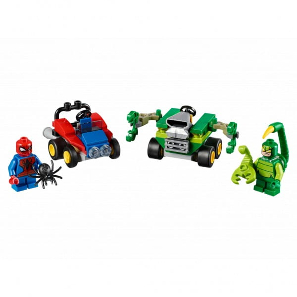 Конструктор Lego 76071 Super Heroes Mighty Micros Лего Супер Герои Майти Микро Человек-паук против Скорпиона