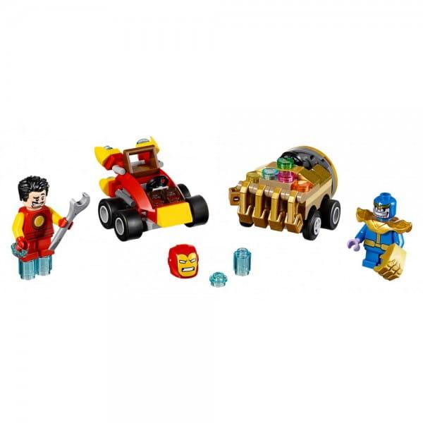 Конструктор Lego 76072 Super Heroes Mighty Micros Лего Супер Герои Майти Микро Железный человек против Таноса