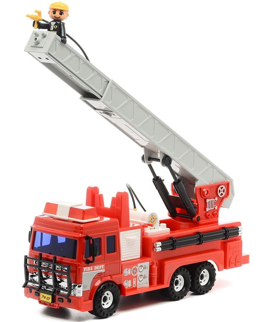 Пожарная машина DAESUNG (красно-серая)