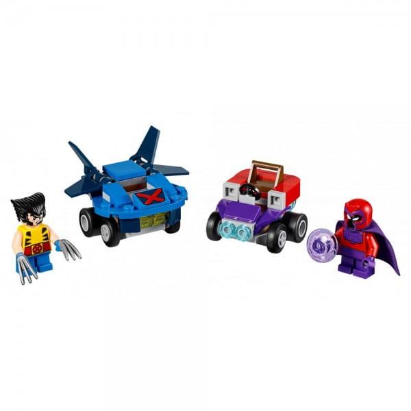 Конструктор Lego 76073 Super Heroes Mighty Micros Лего Супер Герои Майти Микро Росомаха против Магнето