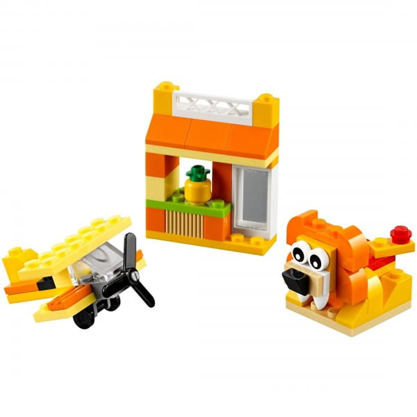 Конструктор Lego 10709 Classic Лего Классик Оранжевый набор для творчества