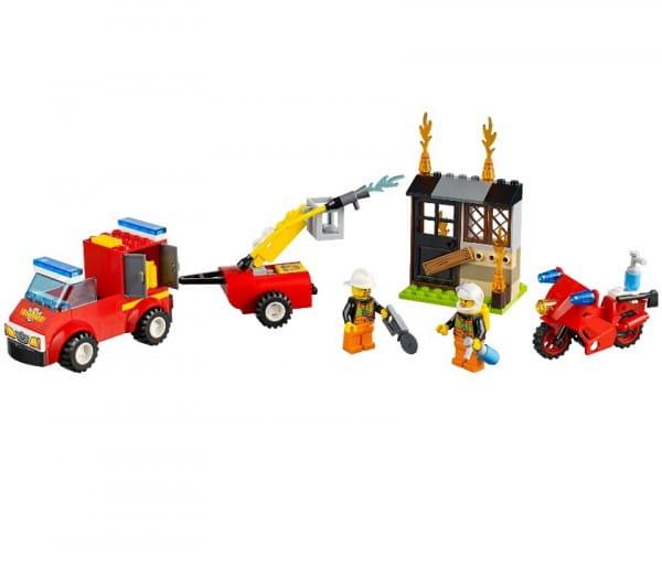 Конструктор Lego Juniors Лего Джуниорс Чемоданчик Пожарная команда