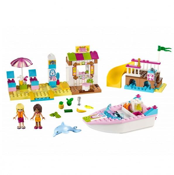 Конструктор Lego Juniors Лего Джуниорс День на пляже с Андреа и Стефани