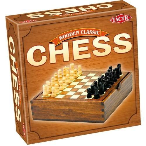 Купить Настольная игра Tactic Шахматы (мини) в интернет магазине игрушек и детских товаров
