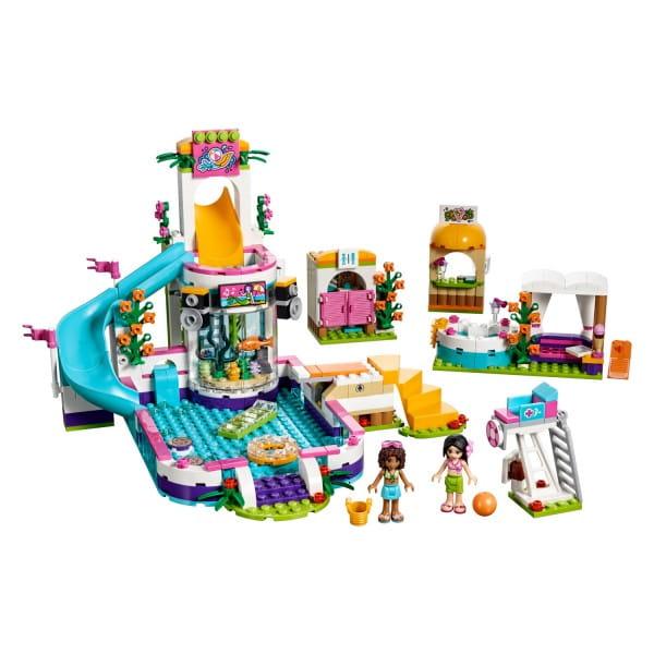 Конструктор Lego Friends Лего Подружки Летний бассейн