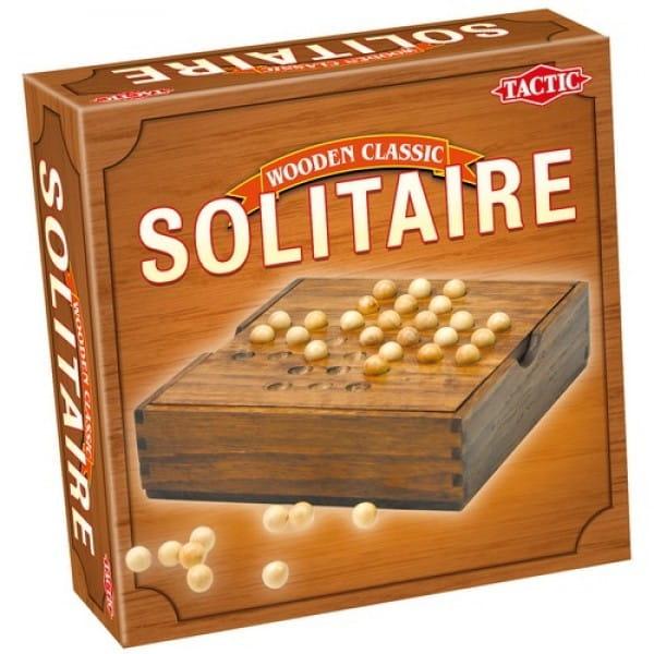 Купить Настольная игра Tactic Солитер (мини) в интернет магазине игрушек и детских товаров