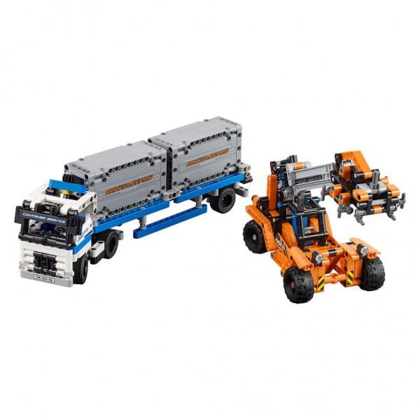Конструктор Lego 42062 Technic Лего Техник Контейнерный терминал
